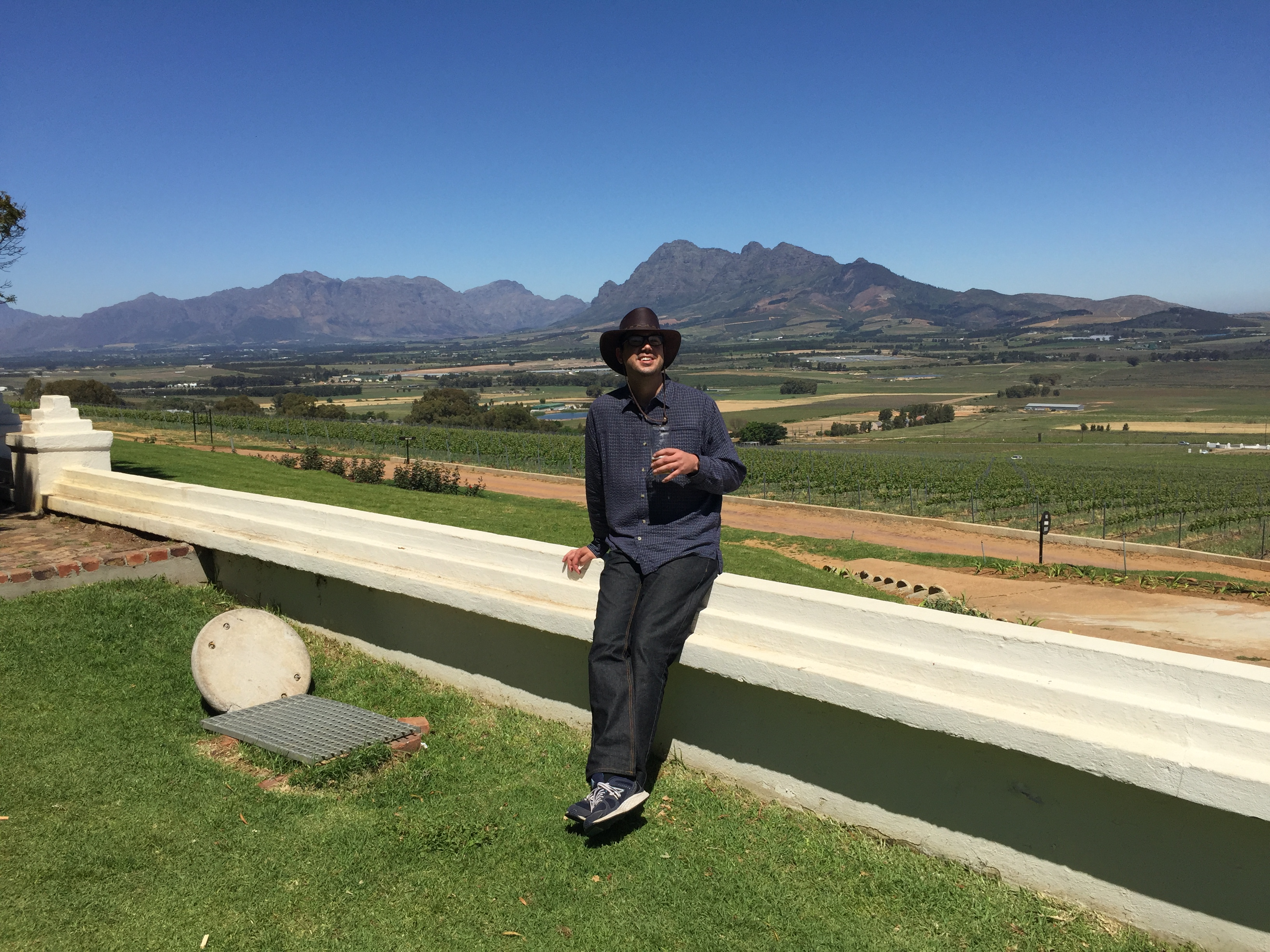 Picture of my self in south africa